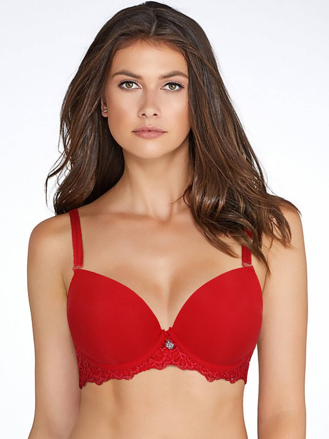 2d9be3b900 shyle red lace winged padded underwired push up bra.jpg